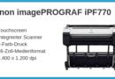 Canon imagePROGRAF iPF770 Ratgeber