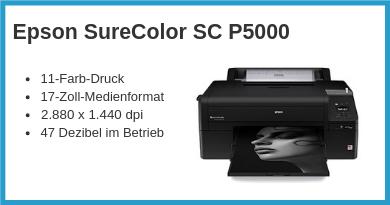 Epson SureColor SC P5000 Ratgeber