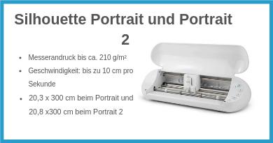 Silhouette Portrait und Portrait 2